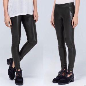 Aritzia Wilfred Rebelle Faux Leather Leggings XS